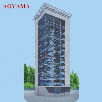 PCS Smart Auto Tower Type Parking System, Intelligent Stereo tower mechanical smart parking lift
