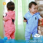 Factory directory wholesale baby clothes 2016 children clothing hooded adult sport casual plain soft cotton romper baby