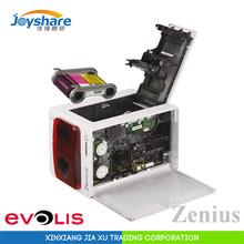 Evolis zenius id card printer single-sided Composite PVC card printer