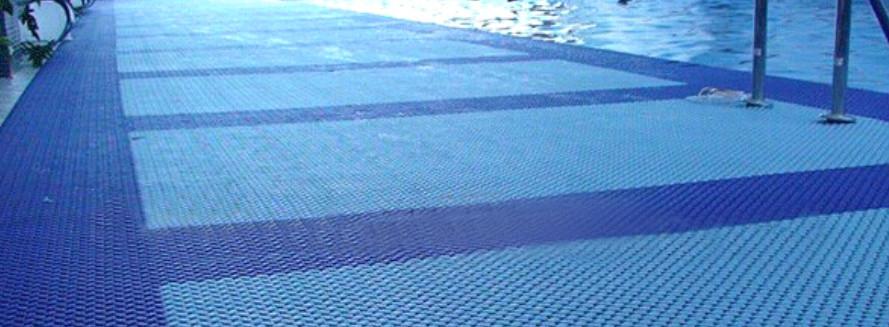 Anti slip swimming pool rubber mats outdoor flooring for - Non slip tiles for swimming pools ...
