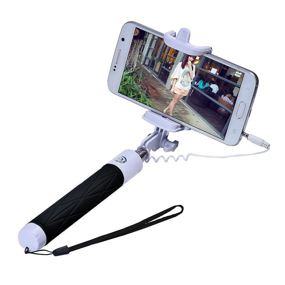 Handheld Extendable Self Portrait Selfie Monopod Stick