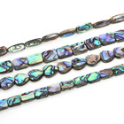 Fashion paua shell necklace abalone shell beads