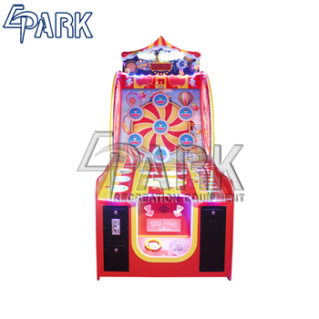 guangzhou redemption coin operated throwing ring game EPARK amusement arcade shooting game