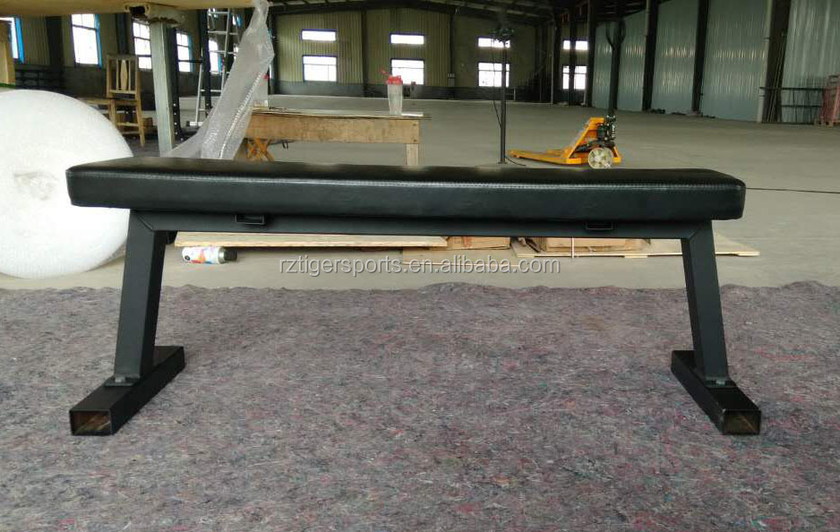 Тренажерное Оборудование для кроссфита, плоская скамья без луча
