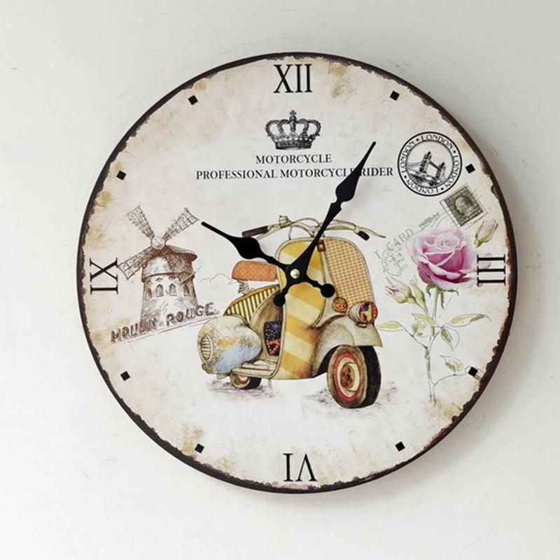 achetez en gros moto horloges murales en ligne des grossistes moto horloges murales chinois. Black Bedroom Furniture Sets. Home Design Ideas