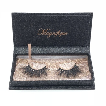 Creat my own brand 3D mink lashes private label cheap price false eyelashes