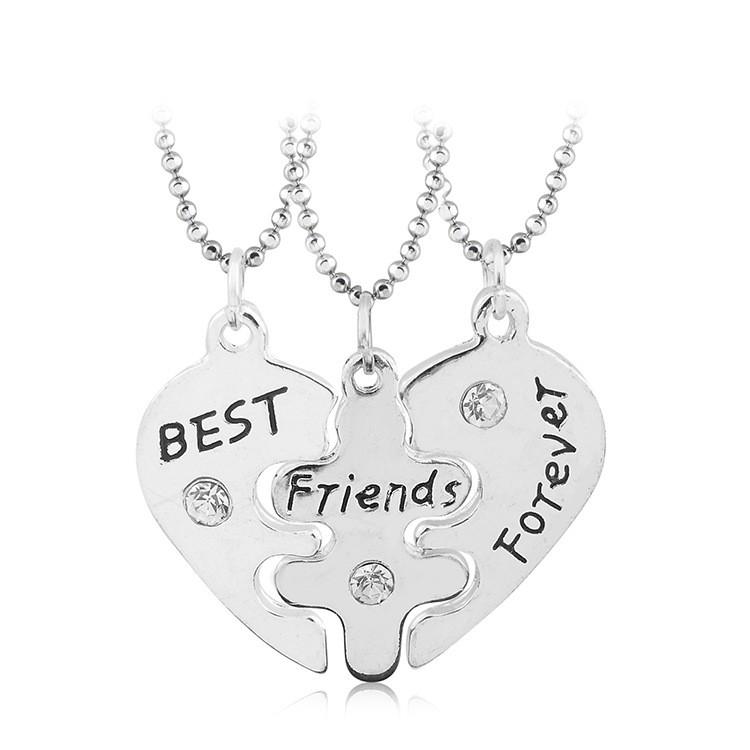 3 قطع أفضل أصدقاء للأبد الصداقة مكسورة القلب قلادة قلادة Buy الصداقة قلادة القلب قلادة قلادة أفضل أصدقاء قلادة Product On Alibaba Com