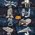 7 kinds star war models 3D DIY metal puzzle jigsaw metal model whole sale building model