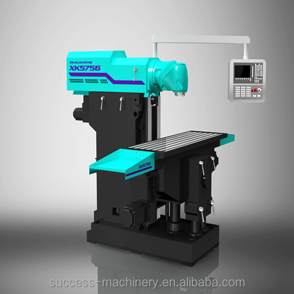 China Ram Type Universal Cnc Milling Machine Xk5756 For ...
