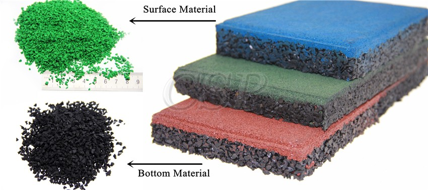 Top Quality Playground Rubber Floor Epdm Gym Flooring