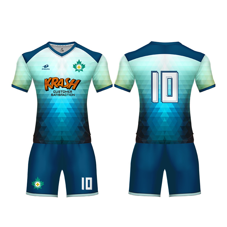 China Factory Cheap Men's T-shirts Youth Team Uniform Soccer Tops ...