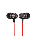 Cheap Super Bass In Ear Metal Earphone MP3 Handsfree Calling Wired Earphone with Mic