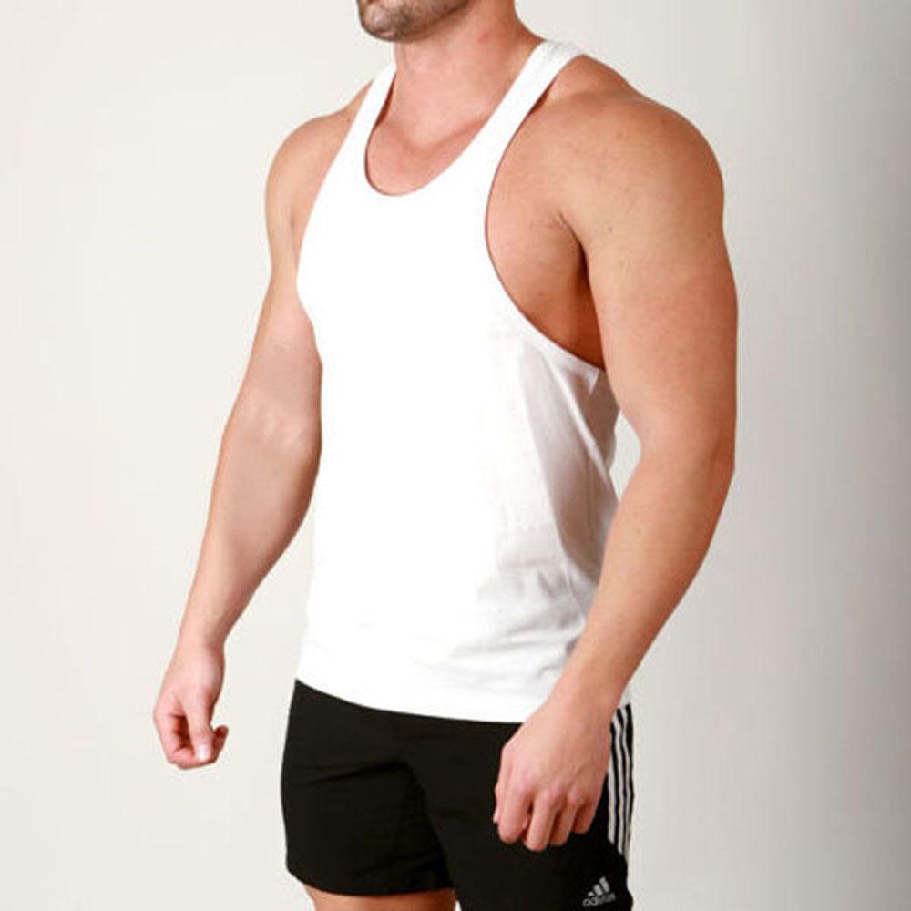 bodybuilding Fitness Studio Racerback Stringer Weste Tiefer Rundhalsausschnitt