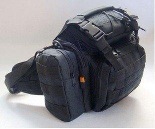 nouveau sac bandouli re sport de mode militaire sac de taille pour voyage sac pour cam ra noir. Black Bedroom Furniture Sets. Home Design Ideas