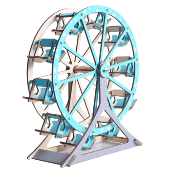 New-Land Hot DIY Toys wooden jigsaw puzzles of Ferris wheel