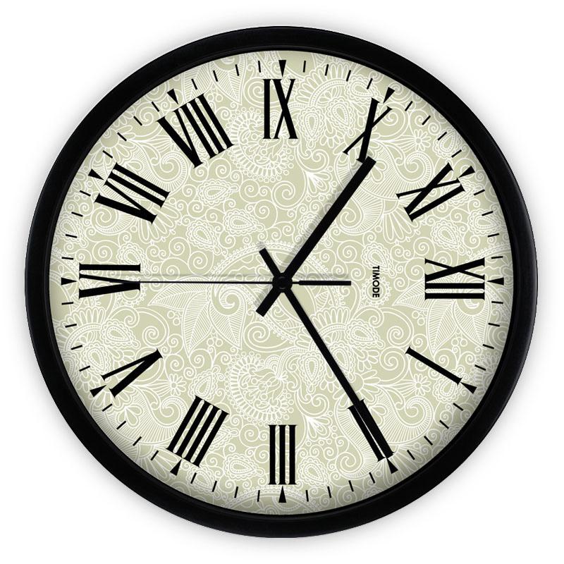 large metal modern wall clocks european style grande horloge murale kitchen hours digital rustic. Black Bedroom Furniture Sets. Home Design Ideas