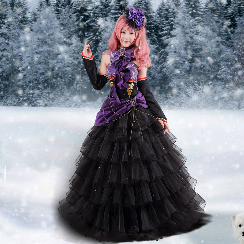 free shipping vocaloid luka japan anime cosplay costume