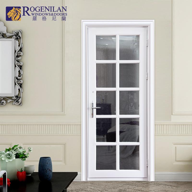 Rogenilan Aluminum Lowes Glass Main Interior Door Design Single Fiberglass Bathroom Door Buy Fiberglass Bathroom Door Lowes Glass Interior Doors Main Door Designs Single Door Product On Alibaba Com