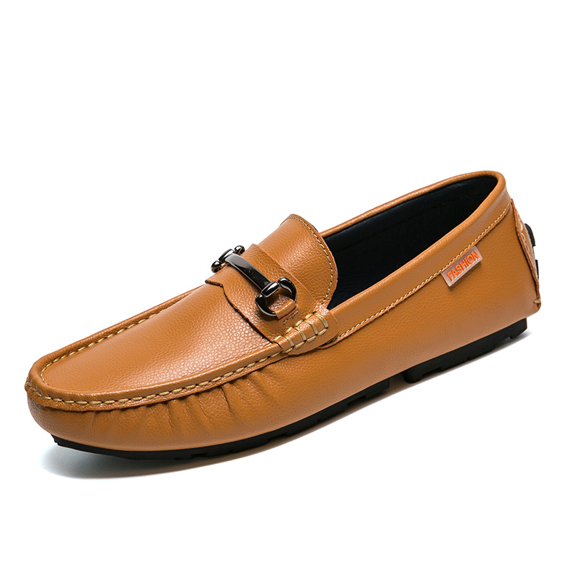 British Fashion Mens Nubuck Cow Leather Slip On Driving Moccasin Loafer Shoes