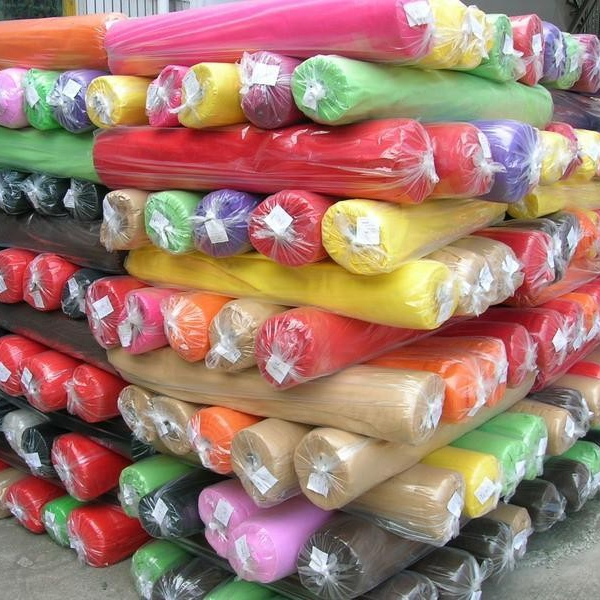 Factory sale customized 100% polyester fabric textile roll