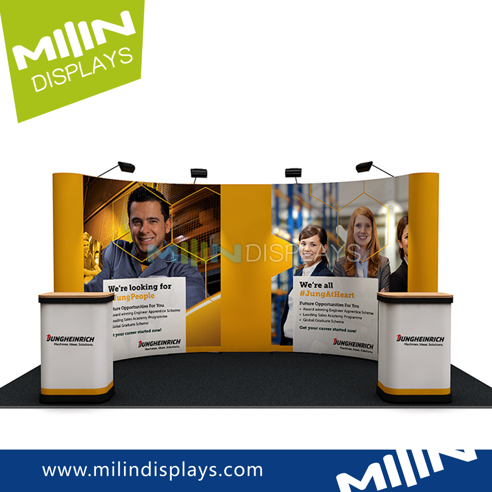 Colorful Printing Stand Wall Pvc Pop Up