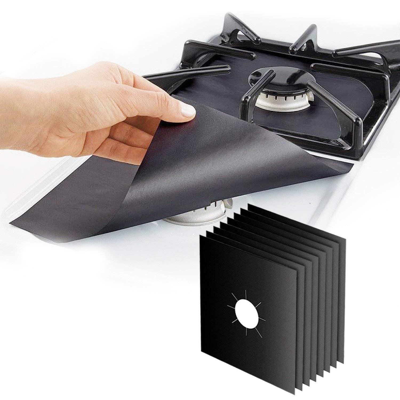 Amazon top selling 2021 black gas stove top burner covers protectors