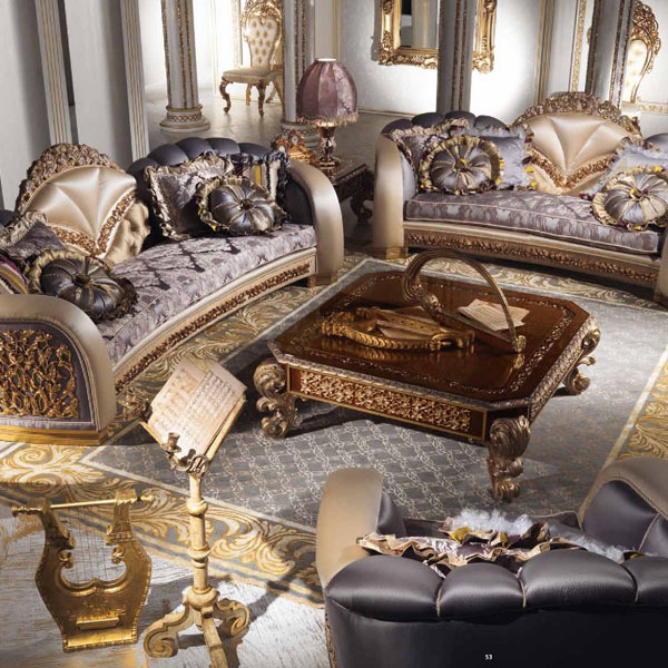 European Style Luxury Imperial Flower Decorative Living