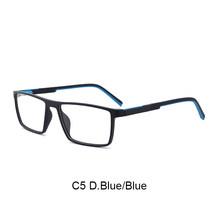 TANGOWO TR90 оправа для близорукости, очки, оправа для мужчин, стильные очки, оптические очки для глаз, очки по рецепту, мужские очки, прозрачные(Китай)