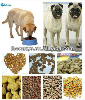 high quality pet granule extruder/pet food extruder appliance
