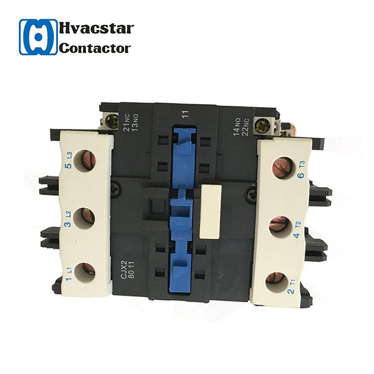 Электрический магнитный однофазный контактор переменного тока HVAC, кондиционирование воздуха 24 В