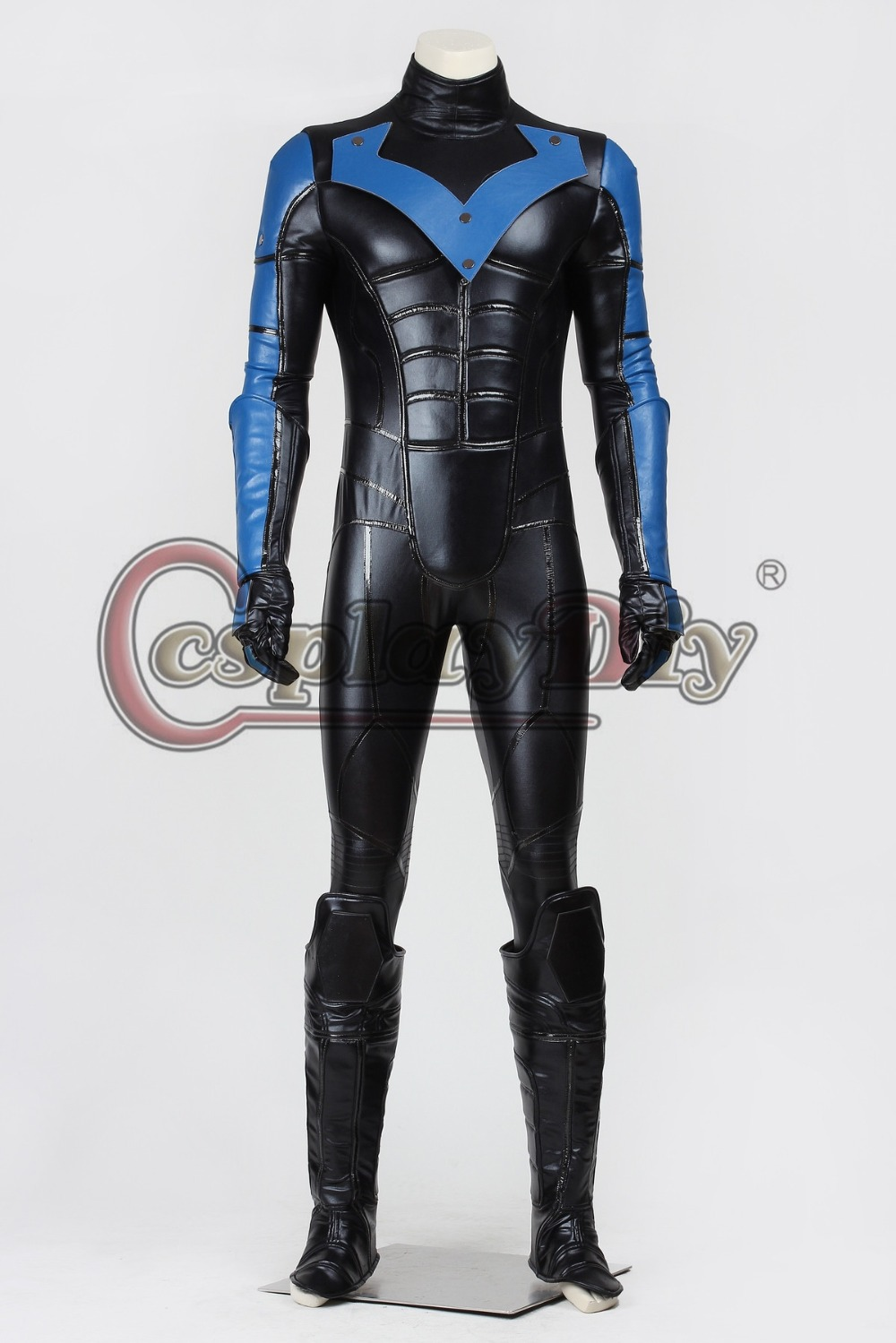 Custom Made Batman Costume Batman Arkham City Nightwing & Batman Arkham City Batman Costumes - Meningrey