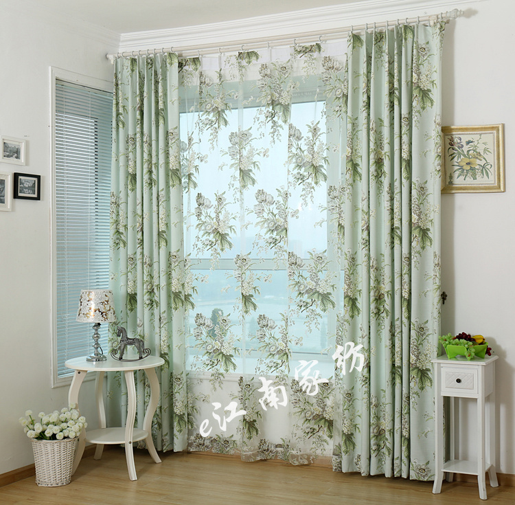 french country curtains tips for house design a collection of 16 charming living room curtains. Black Bedroom Furniture Sets. Home Design Ideas