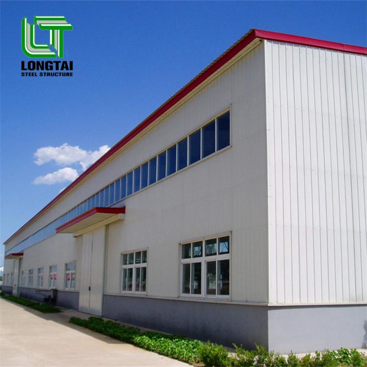 Modern steel large size shopping center