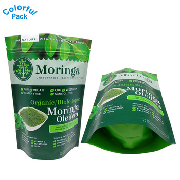 Food Grade Green tea packaging Custom printed tea bags with logo