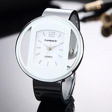 Роскошные Брендовые женские новые модные часы с браслетом, аналоговые кварцевые наручные часы с серебристым золотом, женские часы под плат...(Китай)
