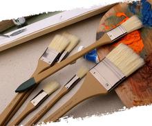 Paint Brush BS – 002 bristle pig hair head Oil painting propylene acrylic brush special made art brush