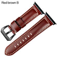 Ремешок для часов MAIKES, ремешок из натуральной кожи для Apple watch 42 мм, 38 мм, iwatch 4, 44 мм, 40 мм, аксессуар(Китай)