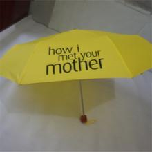 2af80d7c6 Fashion Yellow How I Met Your Mother Umbrella Beautiful Women's Folding  Umbrellas Rain Women Parapluie Parasol