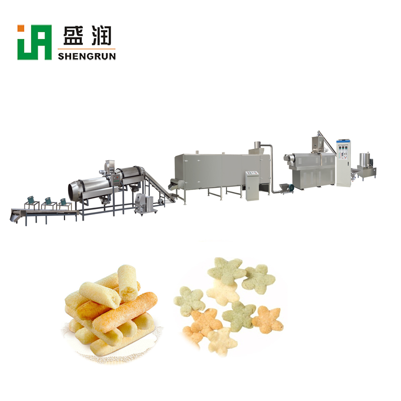 Automatic Snack Food Bubble Corn Cereal Bar Making Machine Automatic Snack Food Bubble Corn Cereal Bar Making Machine