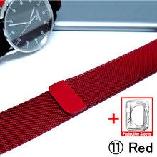 Миланская петля ремешок для Apple Watch 5/4 40 мм 44 мм браслет из нержавеющей стали ремешок для наручных часов для iwatch серии 4/3 38 мм 42 мм(Китай)