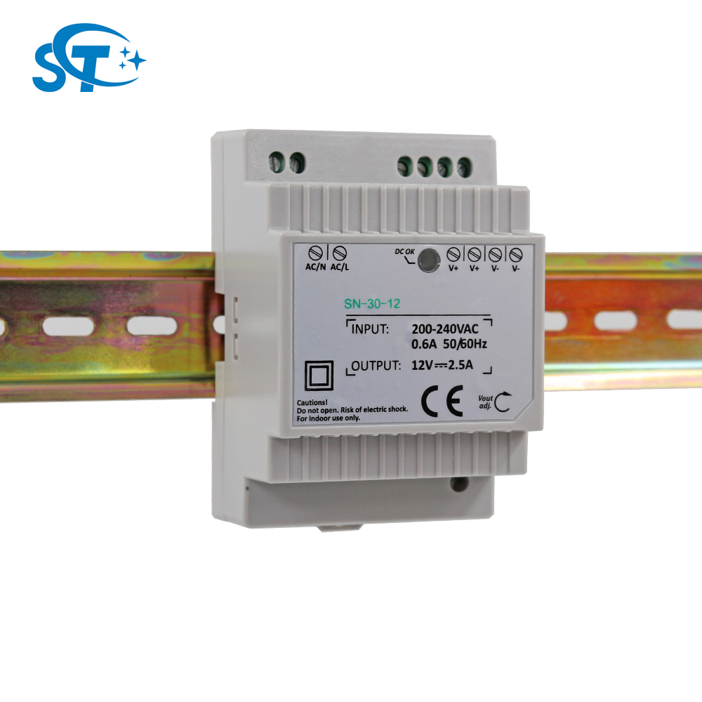 Details about  /Power Supply 30W 24V Single Output Power Supply AC//DC Din Rail Switching Power