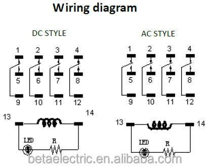 14 Pin Relay Wiring Diagram | Wiring Diagram  Pin Connector Wiring Diagram on