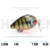 VTAVTA Mini Crankbait Fishing Lures 2.8cm 1.6g Topwater Hard Swimbait Wobblers Artificial Bait Fishing Tackle Lure Set