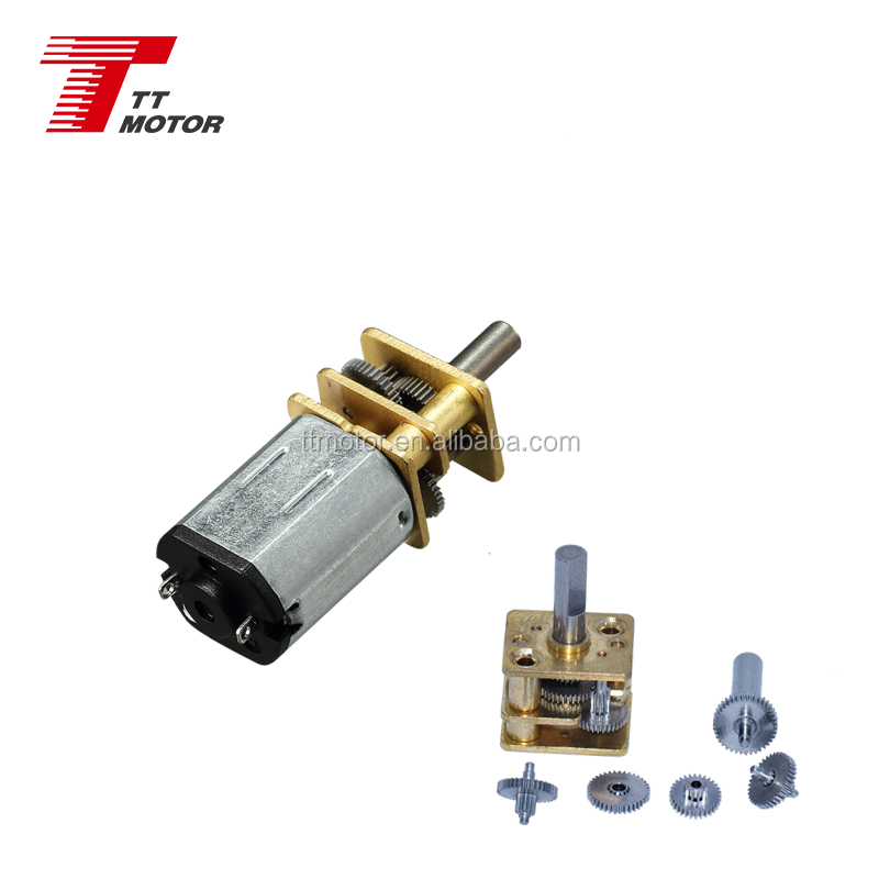 GM12-N20VA-EN 5v 12v электрический редукторный двигатель постоянного тока с кодировщиком