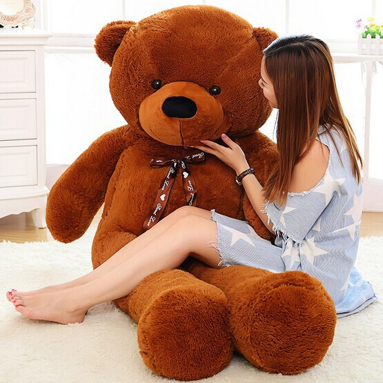 2016 high quality 200cm giant teddy bear soft toy plush. Black Bedroom Furniture Sets. Home Design Ideas