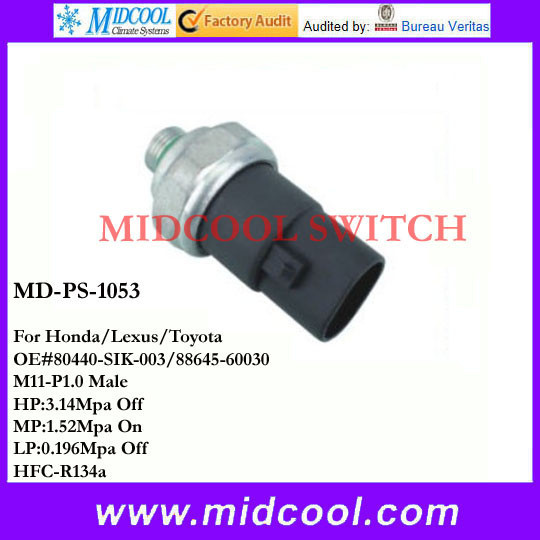 OE Spec Connector of AC Refrigerant Pressure Transducer Switch Fits Hyundai Kia