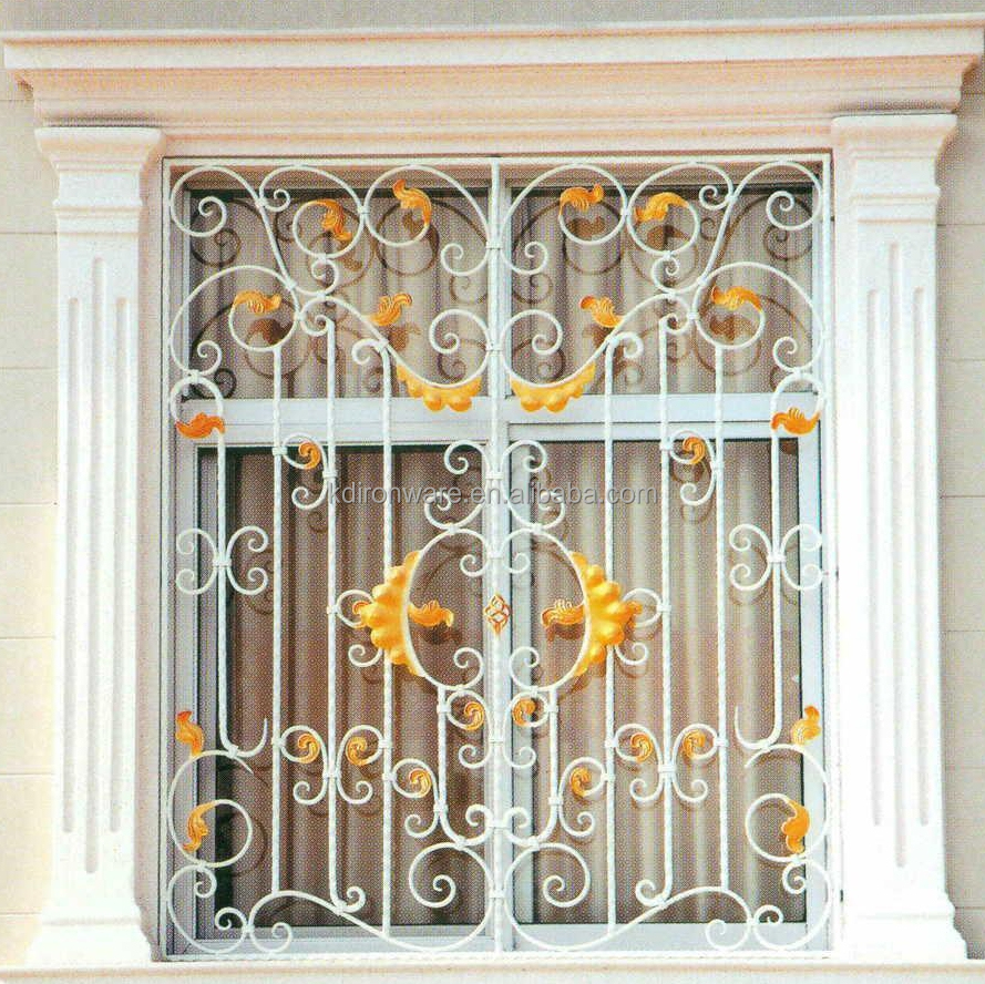 Ornamental Wrought Iron Window Grill Design Home