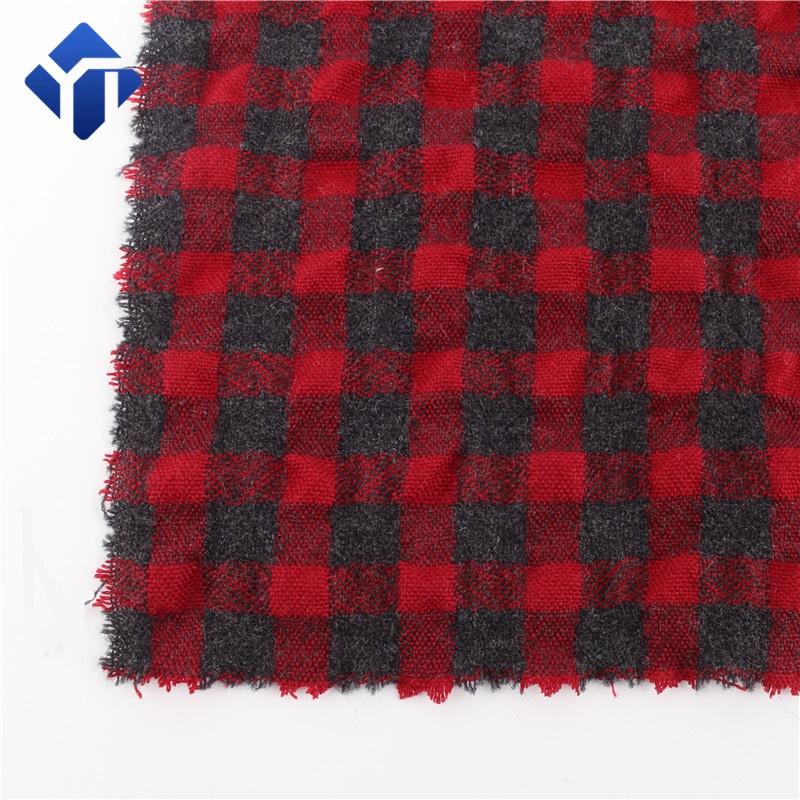 Лучшая австралийская ткань тартан, акриловая шерстяная ткань для брюк