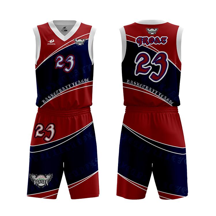 China Supplier Customize Sports Latest Basketball Jerseys Uniform ...