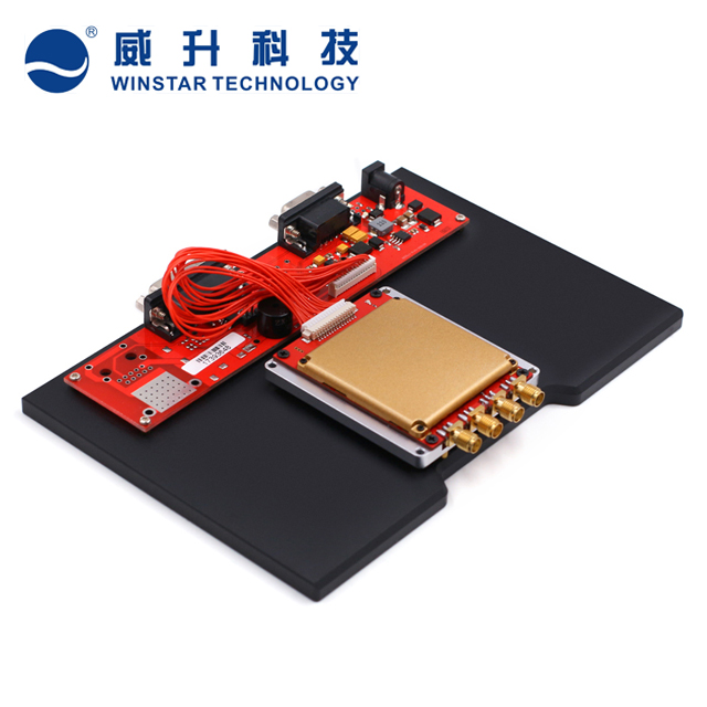 Long range 15meters passive uhf rfid reader module for file tracking epc gen 2 rfid uhf 4 port reader